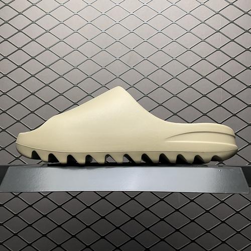 "Original Yeezy Slide "" Pure"" 暖沙黄 侃爷椰子拖鞋 GZ5554_纯原s2优势"