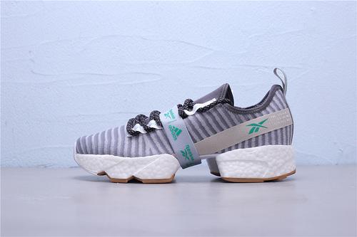 FW0167 Reebok Sole Fury  x Adidas 阿迪达斯 Boost 锐步联名款爆米花中底 复古老爹风运动休闲跑步鞋39-45