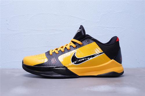 CD4991-700 公司级 Nike Zoom Kobe 5 李小龙配色 科比5代 男子低帮运动篮球鞋 男鞋40-46