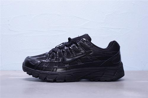 "CD6404-002 公司级 Nike P-6000 复古老爹风休闲运动跑鞋""全黑""男女鞋35.5-44.5"