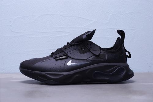 "BQ4737-003 公司级Nike React-Type GTX 耐克防水机能男休闲跑步鞋 ""全黑"" 男鞋36-45"
