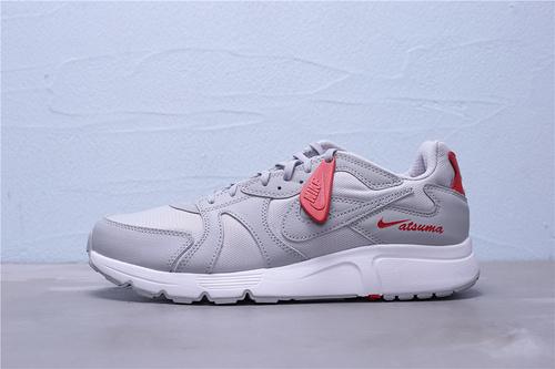 "CD5461-003 公司级Nike Atsuma 四季常青款耐磨休闲运动板鞋 ""灰红"" 男鞋39-45"