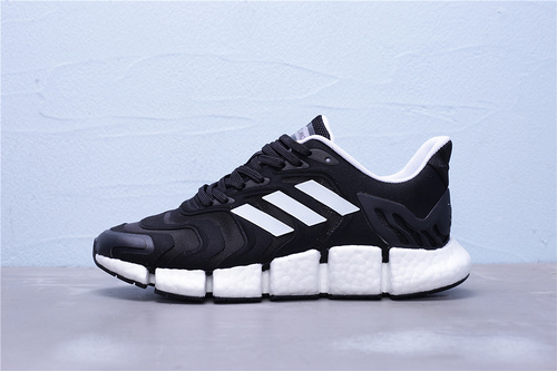 "FX7846 公司级 Adidas 阿迪达斯 Climacool 清风系列 超轻超弹力爆米花中底跑鞋""黑白""男女鞋36-44"