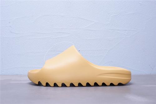 FW6344 阿迪达斯 Adidas Yeezy SLIDE 侃爷极简风 巧椰子 沙色 情侣休闲拖鞋36-45