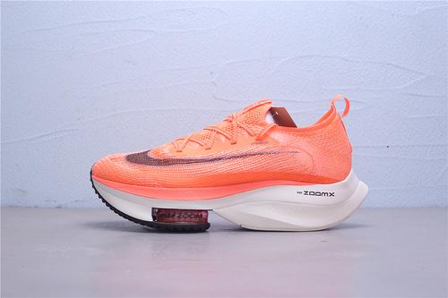 "CI9925-800 白盒 公司级Nike Air Zoom Alphafly NEXT%""White/Black/Pink"" 马拉松2代 ZOOM气垫 针织面透气强轻量超跑运动鞋男女鞋36-45"
