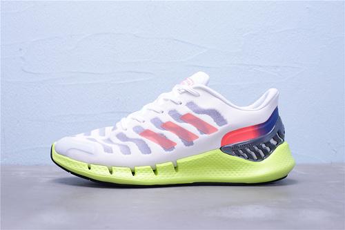 "FW1225 公司级 Adidas 阿迪达斯 Climacool 清风系列轻跑鞋""白兰荧光绿""男鞋39-44"