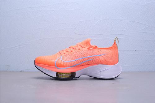 "CI9924-800 白盒 公司级Nike Air Zoom Alphafly NEXT%""White/Black/Pink"" 马拉松2代 ZOOM气垫 针织面透气强轻量超跑运动鞋男女鞋36-45"