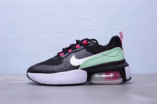 """CI9842-001 公司级 Nike Air Max Verona 半掌气垫复古休闲运动跑鞋 邓紫棋同款""""黑薄荷绿荧光粉白""""女鞋36-40"""
