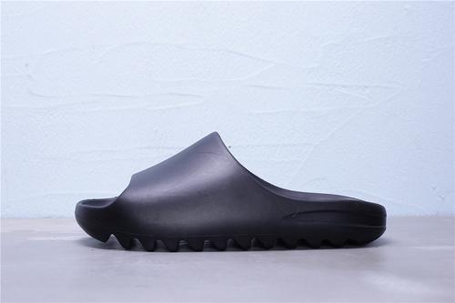 FX0495 阿迪达斯 Adidas Yeezy SLIDE 侃爷极简风 巧椰子 黑色 情侣休闲拖鞋36-45