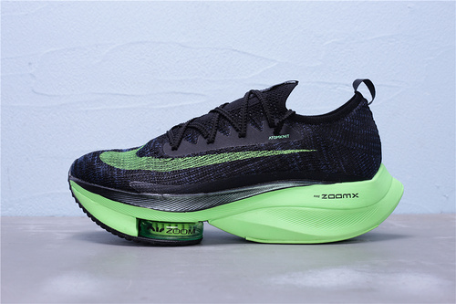 "CI9925-400 公司级 Nike Air Zoom Alphafly NEXT% 马拉松气垫轻量超跑运动慢跑鞋""黑炭灰能量绿""男女鞋36-45"