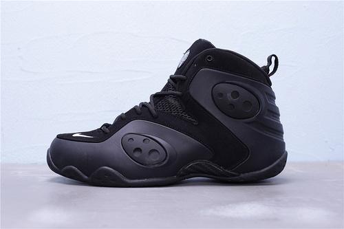 """BQ3379-002 公司级 Nike Zoom Rookie 哈达威 新秀 前卫高帮休闲运动篮球鞋""""白黑夜光喷""""男鞋40-47"""