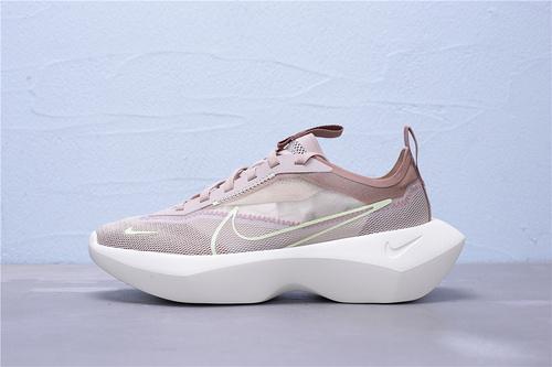 """CI0905-200 公司级耐克Nike Vista Lite厚底增高运动休闲鞋""""玫瑰棕荧光绿""""女鞋36-40"""