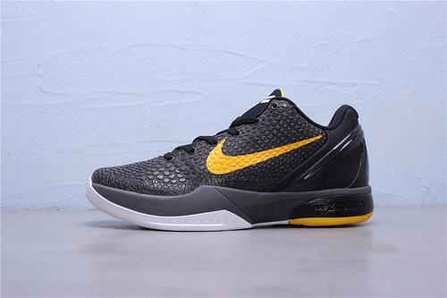 """CW2190-001 公司级Nike Zoom Kobe 6 Del Sol""""黑曼巴首发 科比六代 低帮男子篮球鞋40-46"""