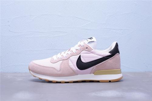 631754-019 公司级 全新版本 Nike Internationalist 华夫经典复古猪八革织布低帮休闲运动鞋 女鞋36-39