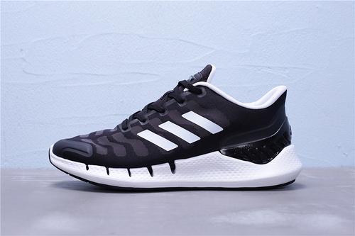 FW1223 公司级 Adidas 阿迪达斯 Climacool 清风系列轻跑鞋 黑白 男女鞋36-44