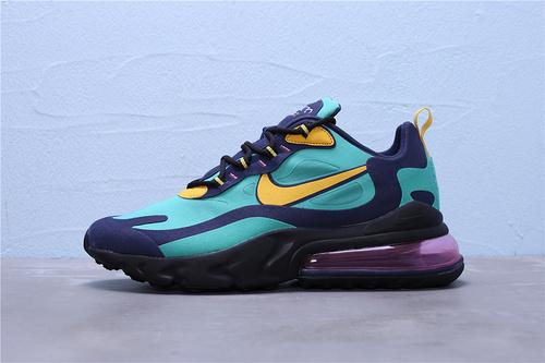 AO4971-300 正确版公司级 Nike Max 270 React 混合科技二维码鞋标外标内置RFID芯片 半掌气垫跑步鞋39-45