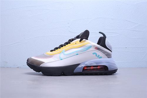 CT1091-100 公司级 Nike Air Max 2090 半掌气垫休闲运动慢跑鞋男鞋39-45