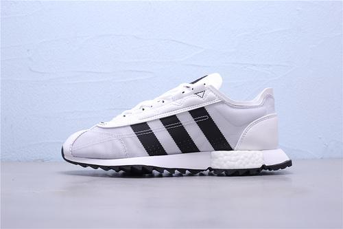FV9796公司级Adidas SL 7600 Boost阿迪复古透气爆米花跑鞋39-44
