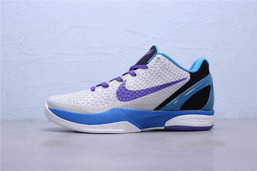 CW2190-102 公司级Nike Zoom Kobe 6 选秀日 黄蜂科比六代 低帮男子篮球鞋40-46