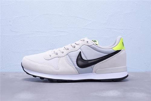 828407-033 公司级 全新版本 Nike Internationalist 华夫经典复古猪八革织布低帮休闲运动鞋 男女鞋36-44