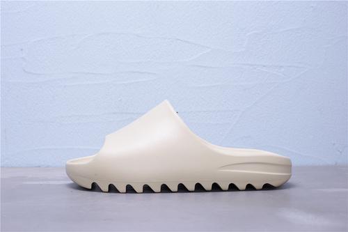 FW6345 阿迪达斯 Adidas Yeezy SLIDE 侃爷极简风 巧椰子 骨白 情侣休闲拖鞋36-45