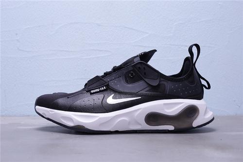 "BQ4737-006 公司级 Nike React-Type GTX 机能防水系列 休闲缓震运动慢跑鞋""黑白""男鞋39-45"