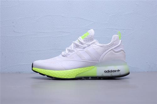 FV0480 公司级 Adidas ZX 2K Boost 2020夏季新款三叶草爆米花复古跑鞋 男鞋 40-45