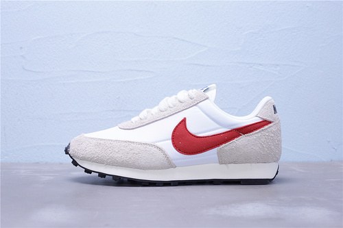 "BV7725-100 公司级 正确黑盒 Nike Daybreak SP 华夫复古休闲慢跑鞋""灰白大红黑""男女鞋36-45"