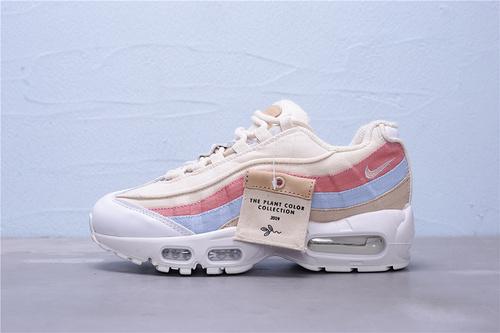 CD7142-800 公司级 Nike Air Max 95 QS 女子复古气垫运动休闲跑鞋 大厂出品 红蓝 女鞋36-39
