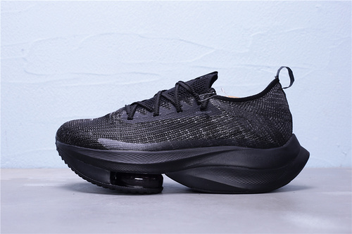 "CI9925-001 公司级 Nike Air Zoom Alphafly NEXT% 马拉松气垫轻量超跑运动慢跑鞋""全黑""男女鞋36-45"