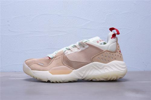 """CD6109-200 公司级 Nike Air Jordan Delta 乔丹代尔塔解构瑞亚泡棉系列机能慢跑鞋""""棕绿浅薄红""""男女鞋36-45"""