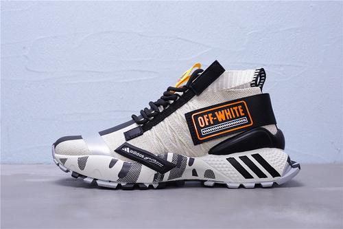EF6603 Adidas OFF-VHITO 高弹性飞织运动鞋时尚韩版室外跑步鞋春夏季网面旅游鞋 男鞋 36-45