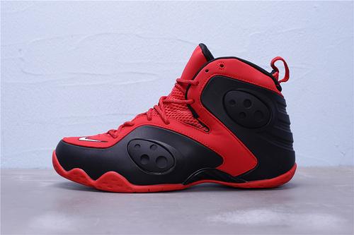 """BQ3379-600 公司级 Nike Zoom Rookie 哈达威 新秀 前卫高帮休闲运动篮球鞋""""红黑""""男鞋40-47"""