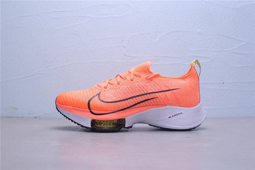 "CI9923-800 白盒 公司级Nike Air Zoom Alphafly NEXT%""White/Black/Pink"" 马拉松2代 ZOOM气垫 针织面透气强轻量超跑运动鞋男女鞋36-45"