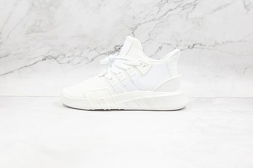 B30 EQT 针织 网面 白色 纯白 EQT 阿迪 货号:DA9534 三叶草 支撑者系列 针织轻便复古慢跑鞋  R12-12