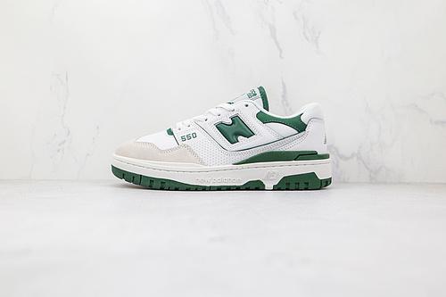 新百伦 NB550 白绿色 货号:BB550WT1 NB550系列 new balance 550系列复古休闲运动慢跑鞋板鞋   M23-5