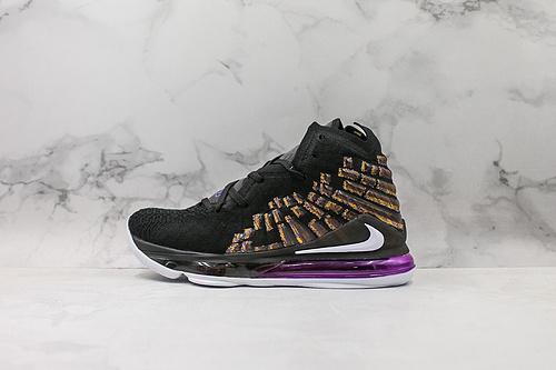 鸳鸯配色Nike LeBron XVII实战运动篮球鞋 原厂缓震科技搭载高科技纤维气垫货号:BQ3177 004      J21
