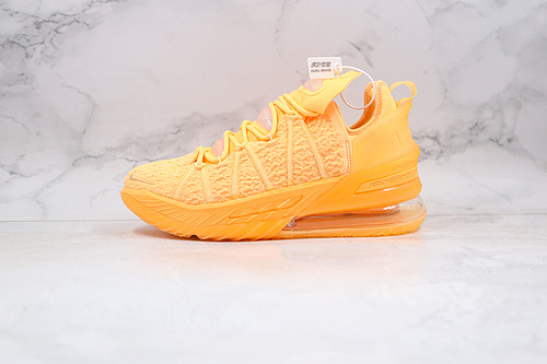 C10 公司级 耐克 詹姆斯18代 篮球鞋 勒布朗 货号:DB8148 801 橙色 LBJ18 NIKE LEBRON XVIII 18 LOW EP詹姆斯   Z18-6
