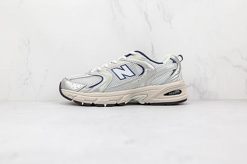 NB530 白银色 New Balance 530复古跑鞋 货号:MR530KA 小红书爆款NB530这双鞋确实是NB家经典复古款式之一 以全新科技诠释    J21