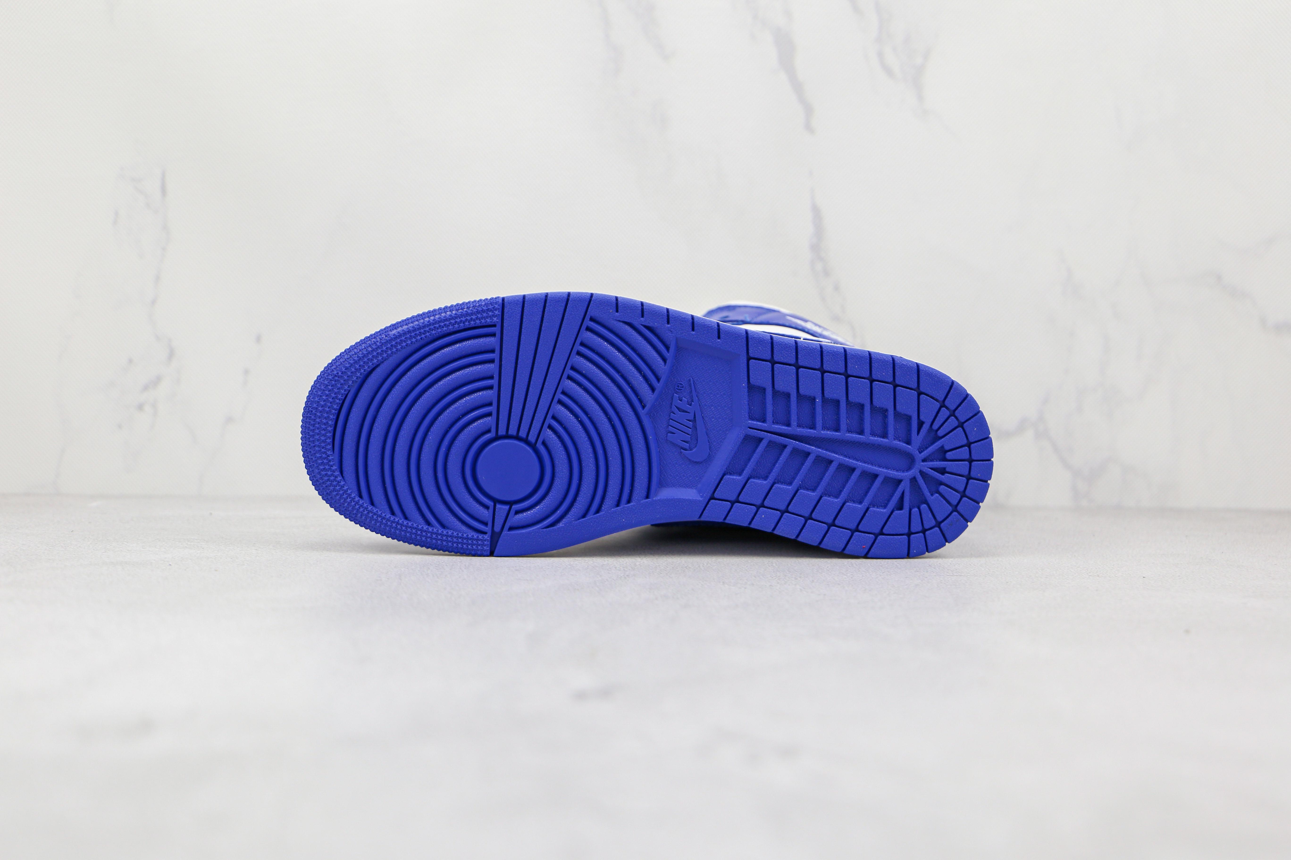 """原厂 AJ1 Mid 中帮 肯塔基蓝 白蓝色  Air Jordan 1 Mid """"Hyper Royal 货号:BQ6472 104 市售最强中帮 天花板品质!   J21"""
