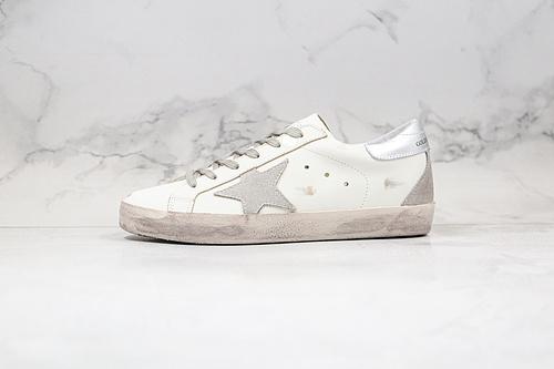 支持二次放店 纯原芯片版本 小脏鞋 GGDB  顶级代购指定版本 GGDB Golden Goose Super Star系列小脏运动鞋 2020ss官方新款      J12-7