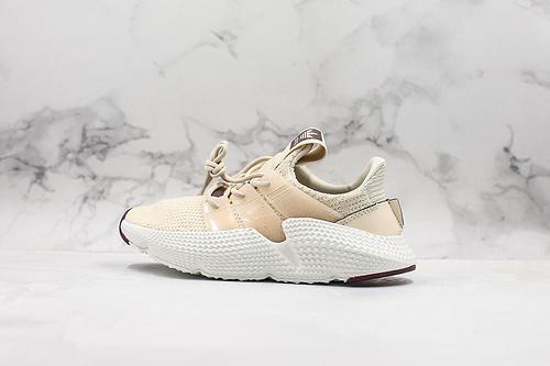 阿迪达斯 刺猬Adidas Originals Prophere 恐惧鲨鱼 亚麻棕 货号EG8139区别鞋面凹塌版本全新改版鞋面材质     K25-5