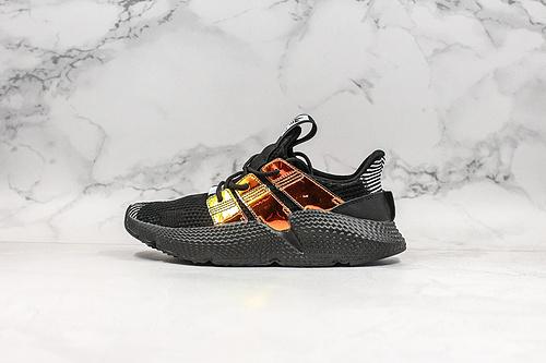 B10 | 阿迪刺猬 黑金Adidas Originals Prophere 恐惧鲨鱼 货号:EG9195 全新改版鞋面材质,不仅仅变化在鞋面的材质纹理上    K25-5