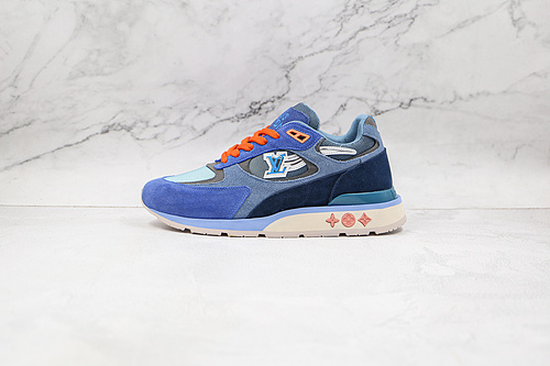 E30  | 纯原代购版 LV板鞋 老爹鞋 驴牌 蓝色 LV 运动鞋 路易威登 路易威登     Y1