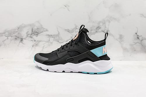B30 | 公司级华莱士黑蓝Nike Air huarache 黑蓝粉 华莱士4代#丽新布加持 多维度运用DYNAMIC-FIT INTER BOOTIE(柔软的弹性内靴)技术    K17