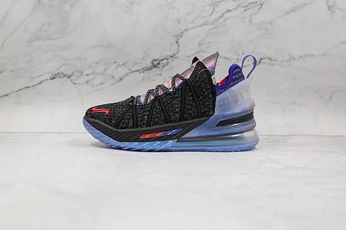 C40 詹姆斯18代 货号:CQ9284H8 Nike Lebron XVII  勒布朗 鞋面依旧是带有鳞片质感编织面 采用了前掌   K25-5