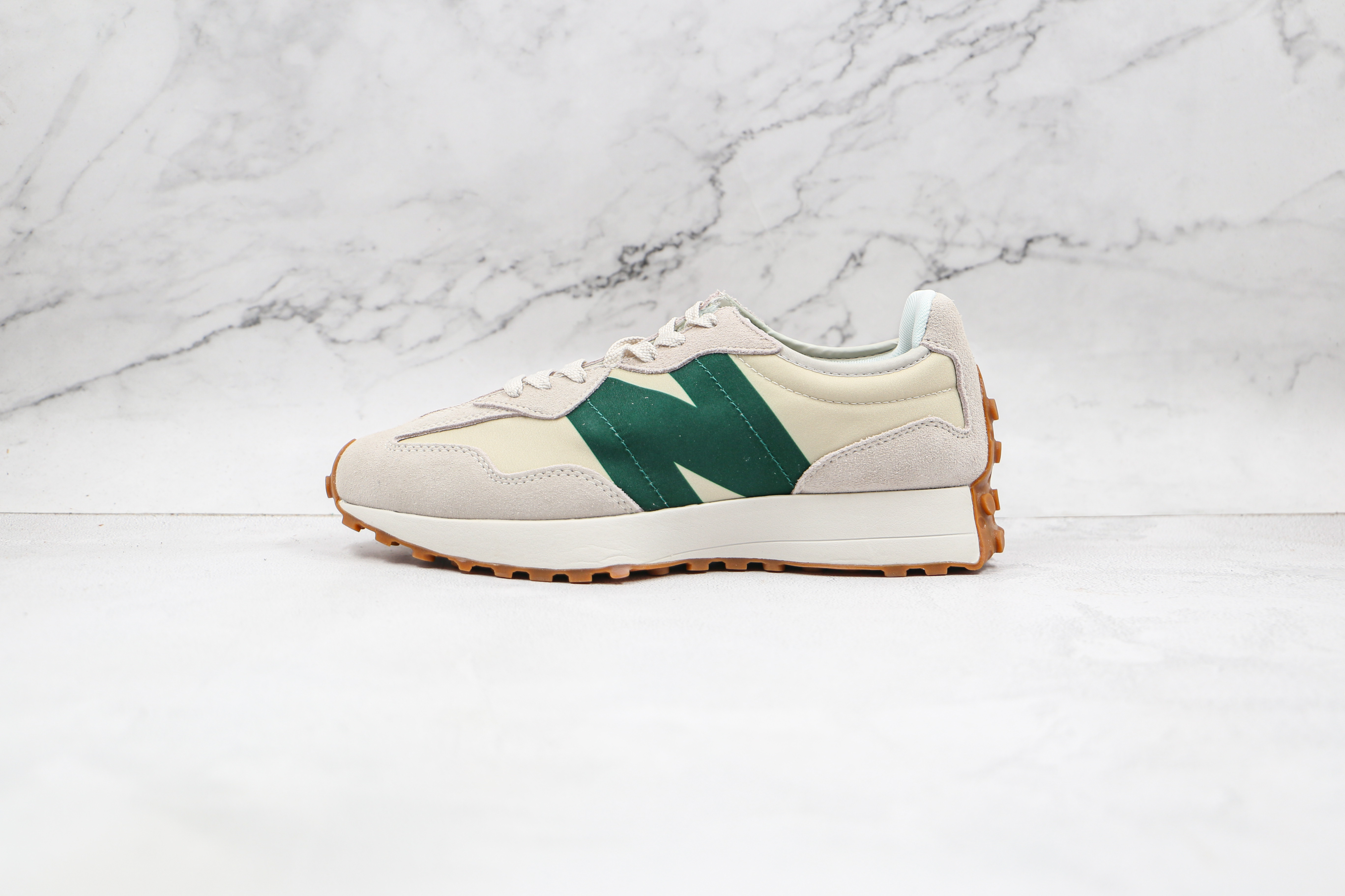 NB327 米绿色 #新百伦 #NB327  #NB 复古慢跑鞋 货号:MS3271HR1 New Balance 327 复古先锋     M23-5