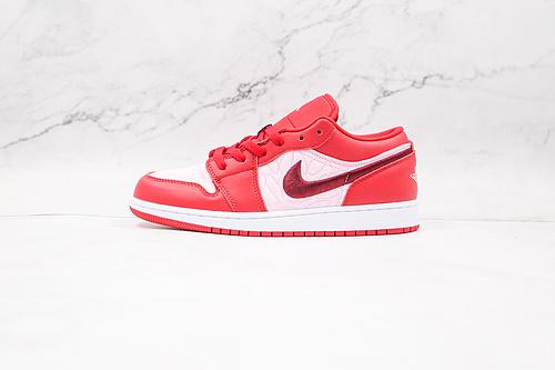 乔丹 AJ1 低帮 白红 圣诞红 货号:DB3621 600 Nike Air Jordan 1 Low AJ1低帮原鞋购回重新打版开模 拒绝公底 购置公司同步原材料   Q17