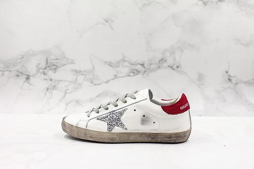 GoIden Goose 经典款小脏鞋 红尾最高工艺原版开模 主打自由随性 有一种不修边幅的酷感 特意做旧运动板鞋 高端柔软皮革 手工刷洗上色打蜡  K15