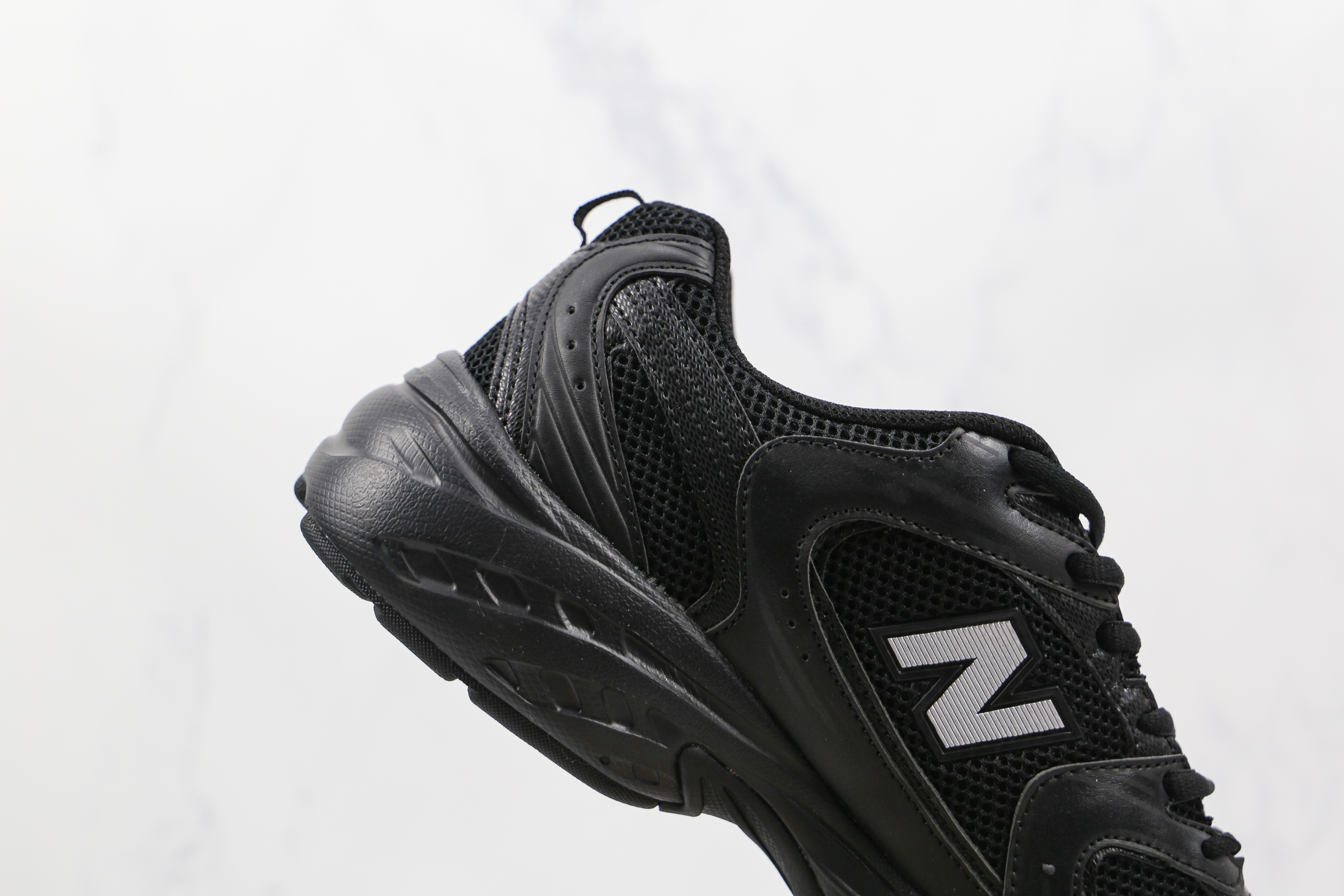 真标 NB530 网面 黑色 New Balance 530复古跑鞋 货号:MR530FB1 小红书爆款NB530       M23-5